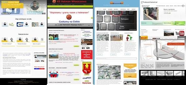 strony internetowe włoszczowa
